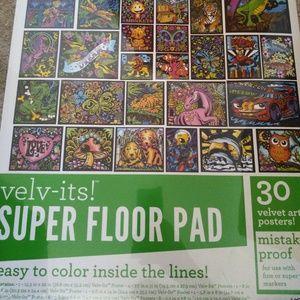 Velv-its super floor pad